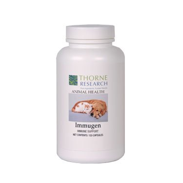 Thorne Research Veterinary – Immugen – 120, My Pet Supplies