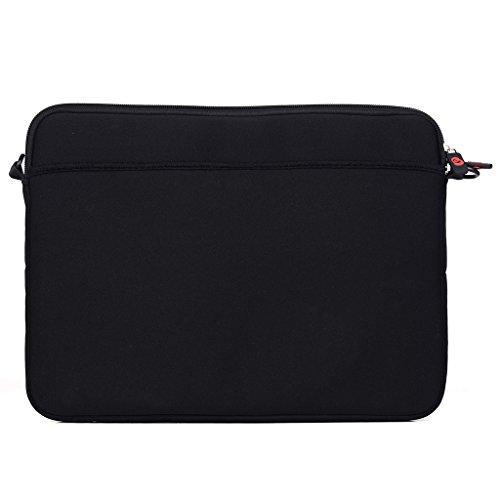 Kroo Tablet/Laptop Hülle Sleeve Case mit Schultergurt für HP Spectre 13x2Pro grün blaugrün schwarz