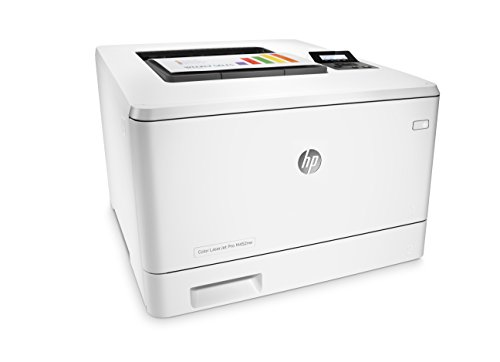 HP Laserjet Pro M452nw Wireless Color Printer, (CF388A) 2 FEATURES DESIGNED FOR YOUR BUSINESS: color laser printer, color touchscreen, wireless printing, 2-sided printing PRINT AT BUSINESS SPEED: Print up to 28 pages per minute with this wireless laser printer. First page out in as fast as 8.9 seconds for black, and 9.5 seconds for color. SOLID SECURITY: Protect sensitive information and improve compliance with data, device and document security solutions for your print fleet.
