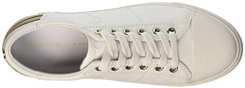 Tommy Hilfiger J1285eanne 1a, Zapatillas para Mujer Blanco (White 100)