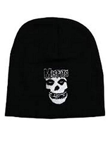 Misfits amp; Negro Hat Personalizada Fiend Logo Beanie Official rwvHcqFr