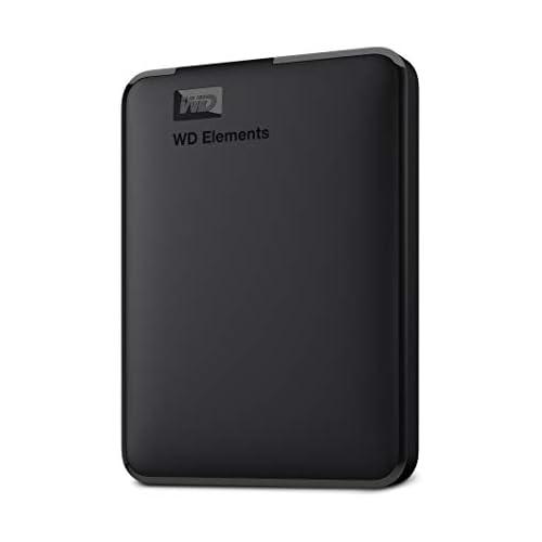 chollos oferta descuentos barato WD Elements Disco duro externo portátil de 4 TB con USB 3 0 color negro