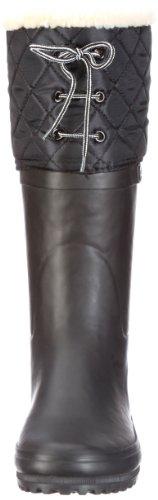 para Agua Mujer Noir de Aigle Negro Giboulee Botas Polka qXw4xzUB