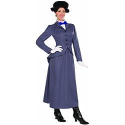 English Nanny Adult Costume Size 14-16