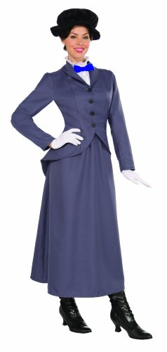 English Nanny Adult Costume Size 14-16 -