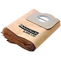 Kärcher Staubsauger Papier Filter Staubbeutel–5Pack (A 2204, A 2234pt, A 2534pt)