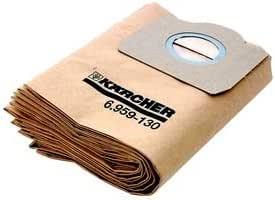 5 Staubsaugerbeutel Filter Ersatz für Kärcher MW 3 Serie WD3 A 6.959-130
