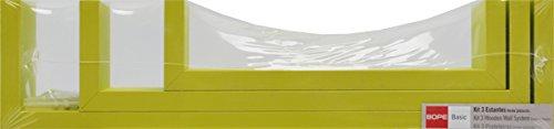 Duraline 1179667 Gioco 3 Mensola U, verde Fetim Group Iberica