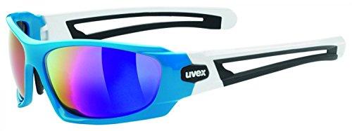 UVEX lunettes de soleil sport style sport 306 Bleu/Blanc