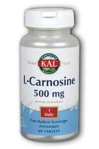 Kal L-Carnosine, 60 Tabs 500 mg