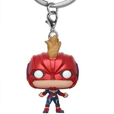2018 Nuevo Pop Moda Juguetes Llavero Marvel Capitán América ...