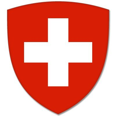 SWITZERLAND Coat of Arms bumper sticker decal 4