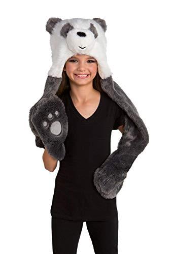 We Bare Bears Panda Adult Costume Hoodie - One Size