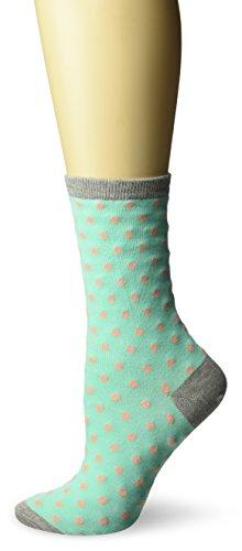 inals Classics Crew, Small Polka Dots (Mint), Shoe 4-10 (Sock Size: 9-11) ()
