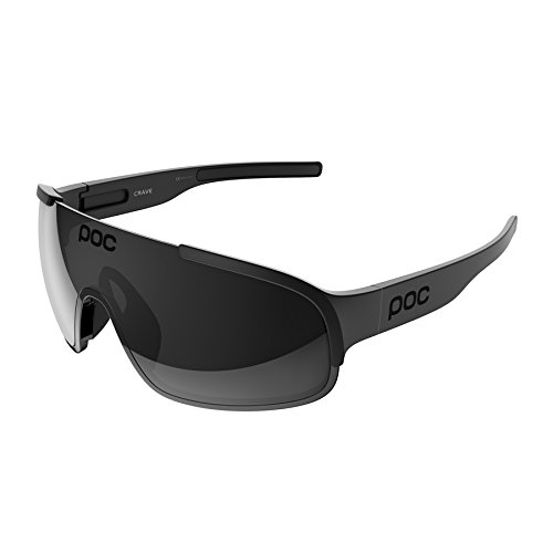 POC Sports Unisex's Crave Sunglasses, Uranium Black, One Size