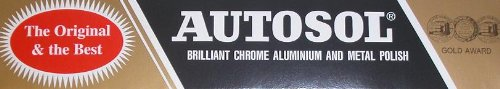 Autosol Brilliant Chrome Aluminium and Metal Polish