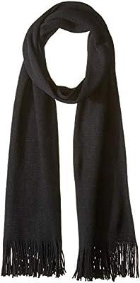 Echo Design Womens Milk Soft Muffler Scarf Black One Size EC0105