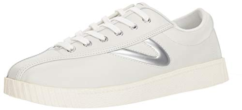 Tretorn Men's Nylite29Plus Sneaker, White, 12 M US