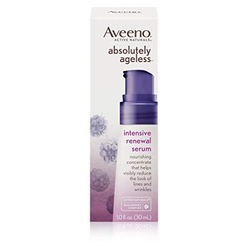 - Aveeno Absolutely Ageless Intensive Anti-Aging Renewal Serum, 1 Fl. Oz