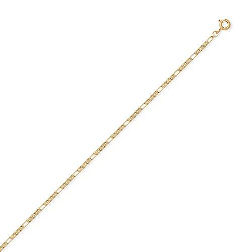 DIAMANTLY Collier or 750 marine 1,8 mm diamant 6 faces - 45 cm