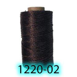 tandy LEATHER製 レザークラフト材料 革 道具 ワックス ロウ引き糸120m カラー3種類(1個入り)Tejas Waxed Thread 132 yds (120 m) 1220-03) 白