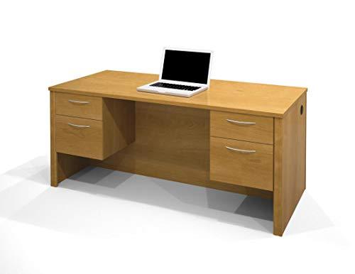 "Bestar 66"" Executive Desk with Dual Half ()"