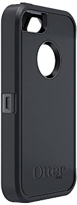 OtterBox Defender Series Case for iPhone 5 - Retail Packaging - Black from OtterBox