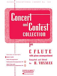 (Hal Leonard Concert And Contest Collections for C Flute Solo Part Only )