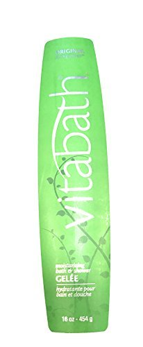 Original Green Spring Moisturizing Gelee (Vitabath Moisturizing Bath & Shower Gelée, Original Spring Green - 16 oz)