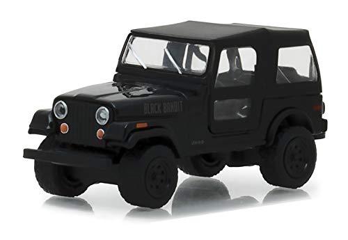 1976 Jeep CJ-7Black Bandit Series 20 1//43 Diecast Model Car by Greenlight 27960 F