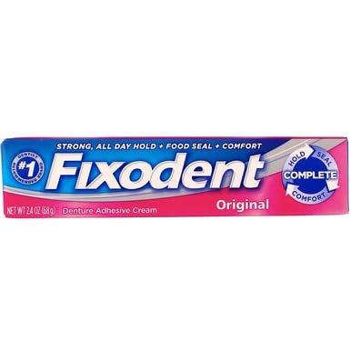 (Fixodent Denture Adhesive Cream Original 2.40 oz (Pack of 12) )