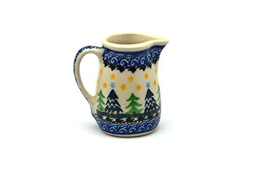 Polish Pottery Miniature Pitcher - Christmas (Miniature Pottery Pitcher)