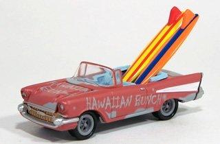 Johnny Lightning Surf Rods - Hawaiian Bunch -1957 Chevrolet Bel Air Convertible 1/64th
