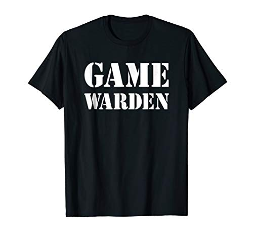 (Game Warden Shirt Halloween)