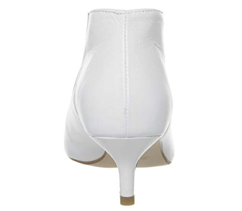 Shoe Leather White Office Low Boots Me Ew17q4