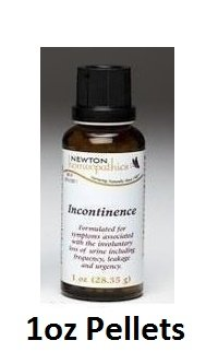 Newton Labs Homeopathics Remedy Incontinence 1oz Pellets