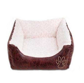 &HUAHUA Pet house Pet Cushion soft Detachable pet appliance Medium big sized pets , white , l