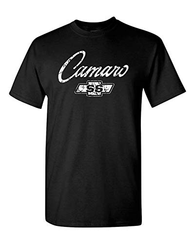 DePeal Chevy Camaro SS Classic American Muscle Car T Shirt Adult Sizes S-3X Various Black