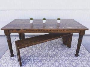 Husky Farm Dining Table Legs in Soft Maple (Set of 4) by Osborne Wood Products (Image #4)