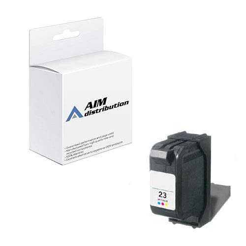 AIM Compatible Replacement for HP NO. 23 Color Inkjet (620 Page Yield) (C1823G) - Generic 23 Compatible Replacement Cartridge Color