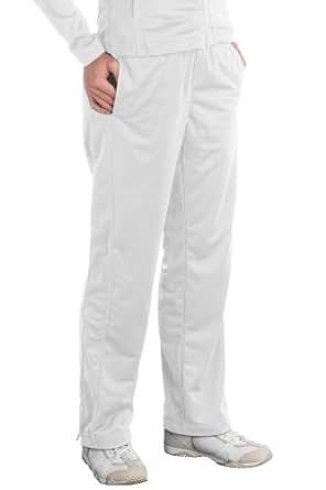 Sport-Tek® Ladies Tricot Track Pant - White - Large
