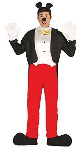 Hommes Mickey Mouse Journée Du Livre Halloween Costume Déguisement Grande Taille