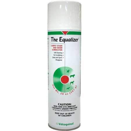 Vetoquinol The Equalizer Carpet Stain and Odor Eliminator, 20 oz