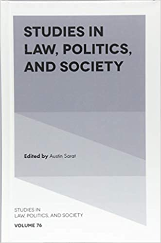 Amazon com: Studies in Law, Politics, and Society (Studies in Law