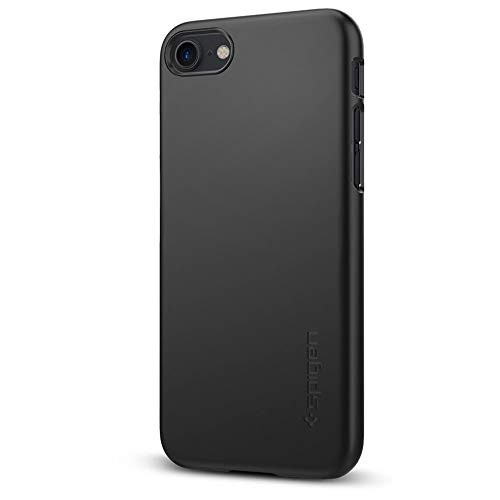 Spigen Thin Fit Designed for Apple iPhone 8 Case (2017) / Designed for iPhone 7 Case (2016) - Black
