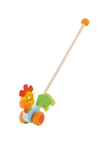 Sevi Push Along Rooster Infant Toy
