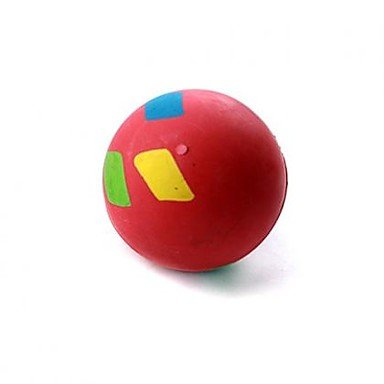 Quick shopping Large Rounded Solid Red Ball Rubber Toys Dogs Products