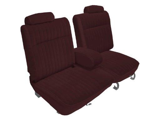 Acme U2003-5111 Front Claret Vinyl Bench Seat Upholstery
