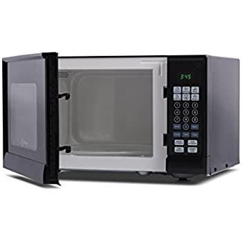 Westinghouse WCM990B 900Watt Counter Top Microwave Oven, 0.9 Cubic Feet, Black  Cabinet