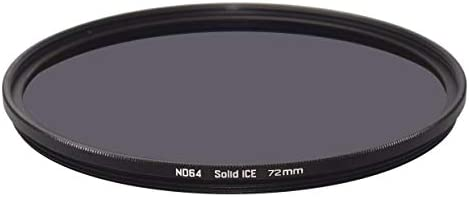 Solid ICE 耐衝撃 72mm ND64 フィルター ニュートラルデンシティーND 6ストップ 強化光学ガラス